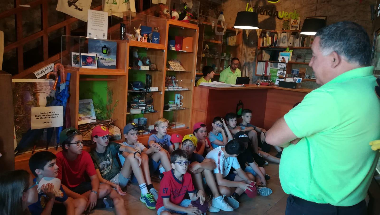 Excursion a Sepulveda del campamento