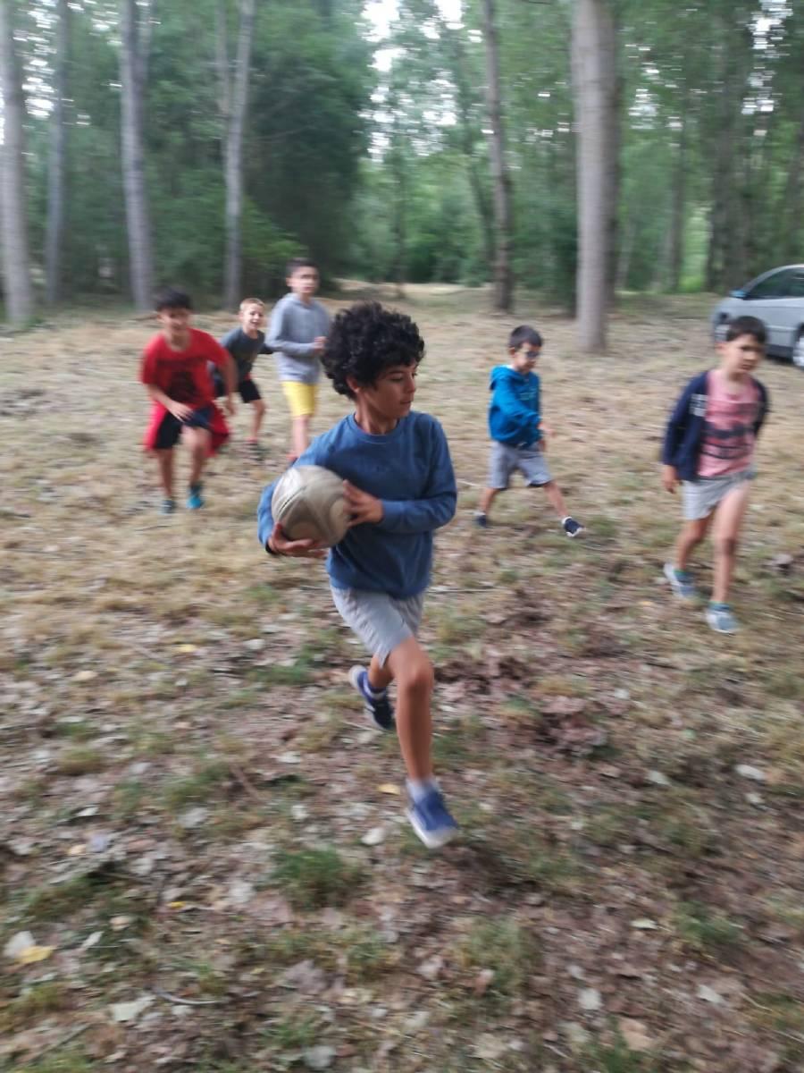Deportes campamento de verano julio