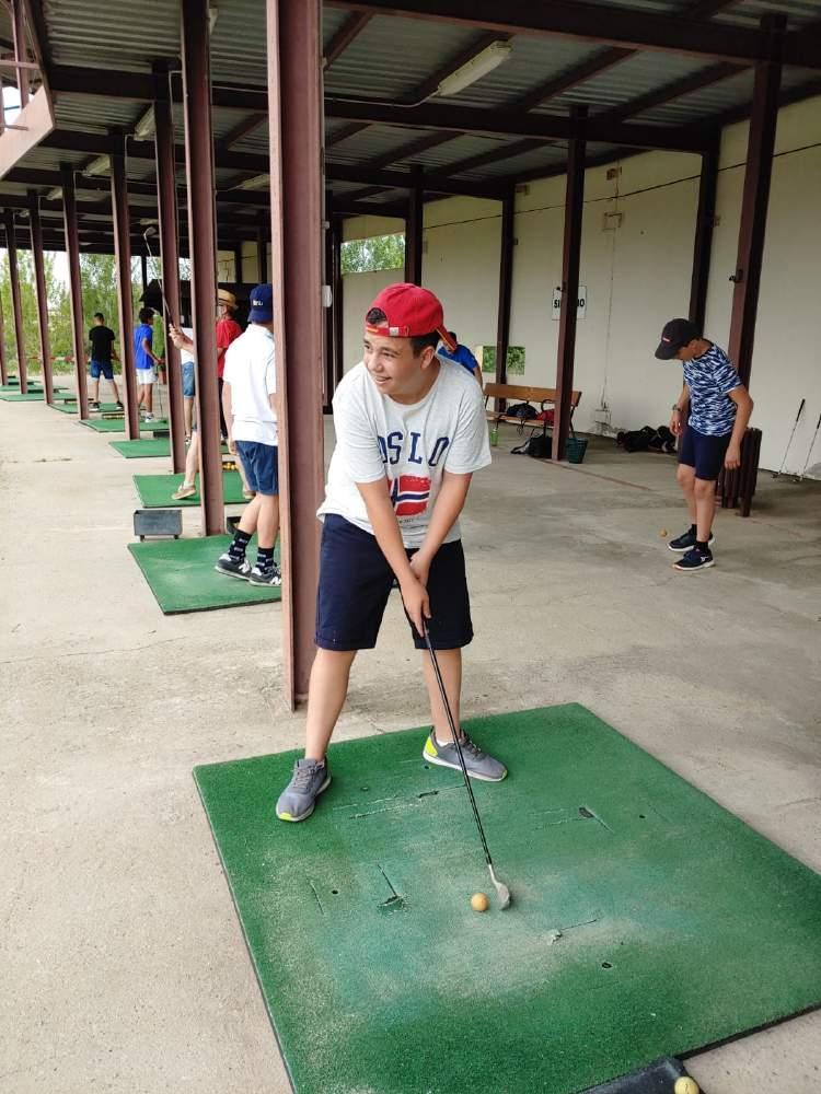 Golf Diario campamento Salamanca y curso inglés y francés 2019
