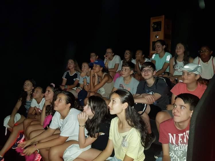 Visita museo cine. Campamento en Salamanca inglés o francés.