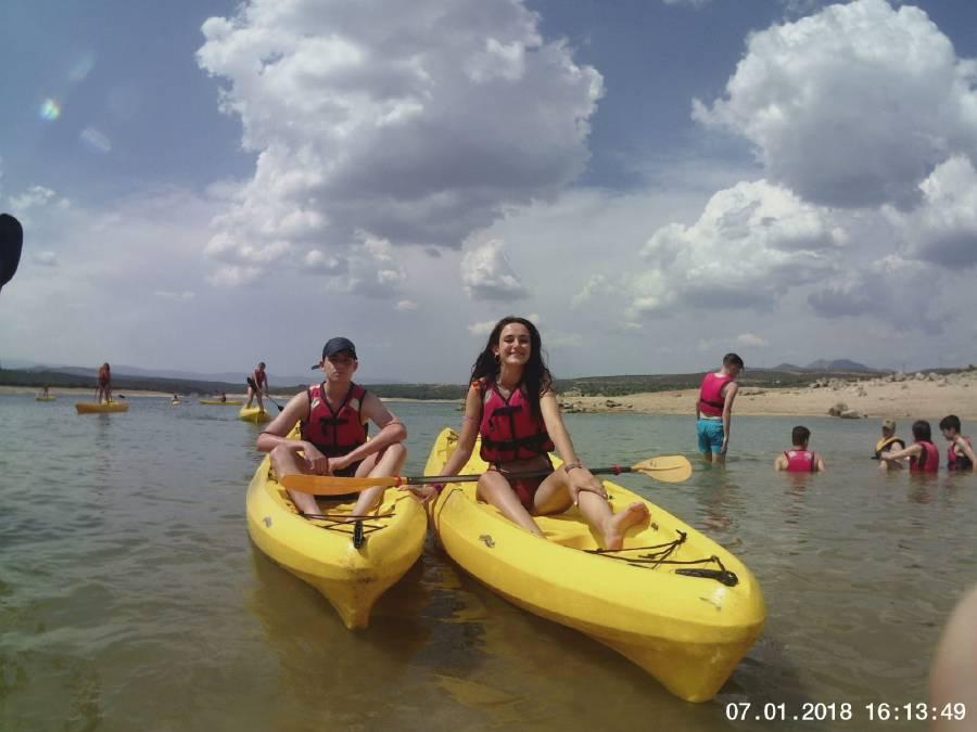 Piragua. Diario Campamento de verano en Madrid.