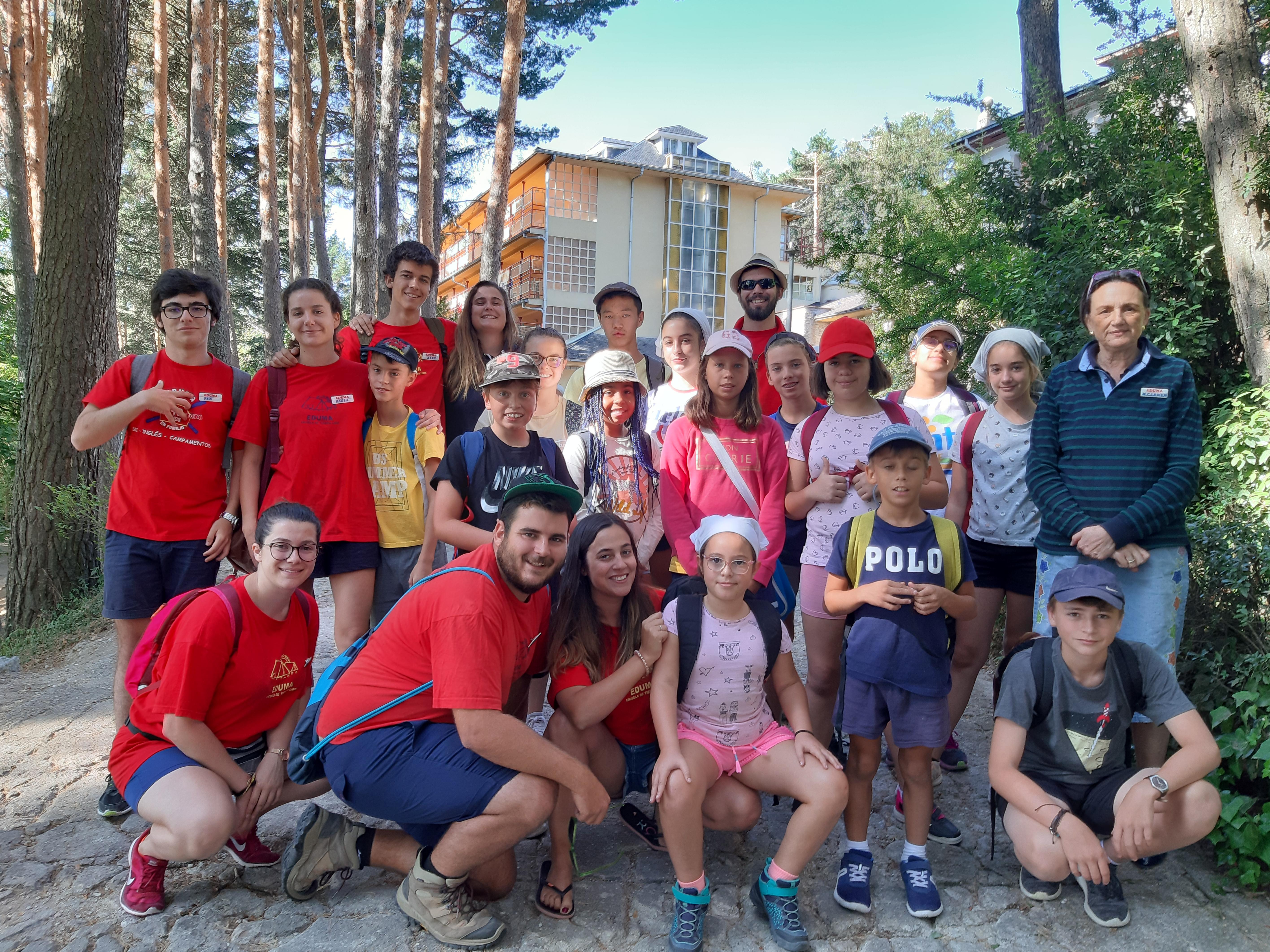 Grupo campamento de verano Madrid, Guadarrama 2019