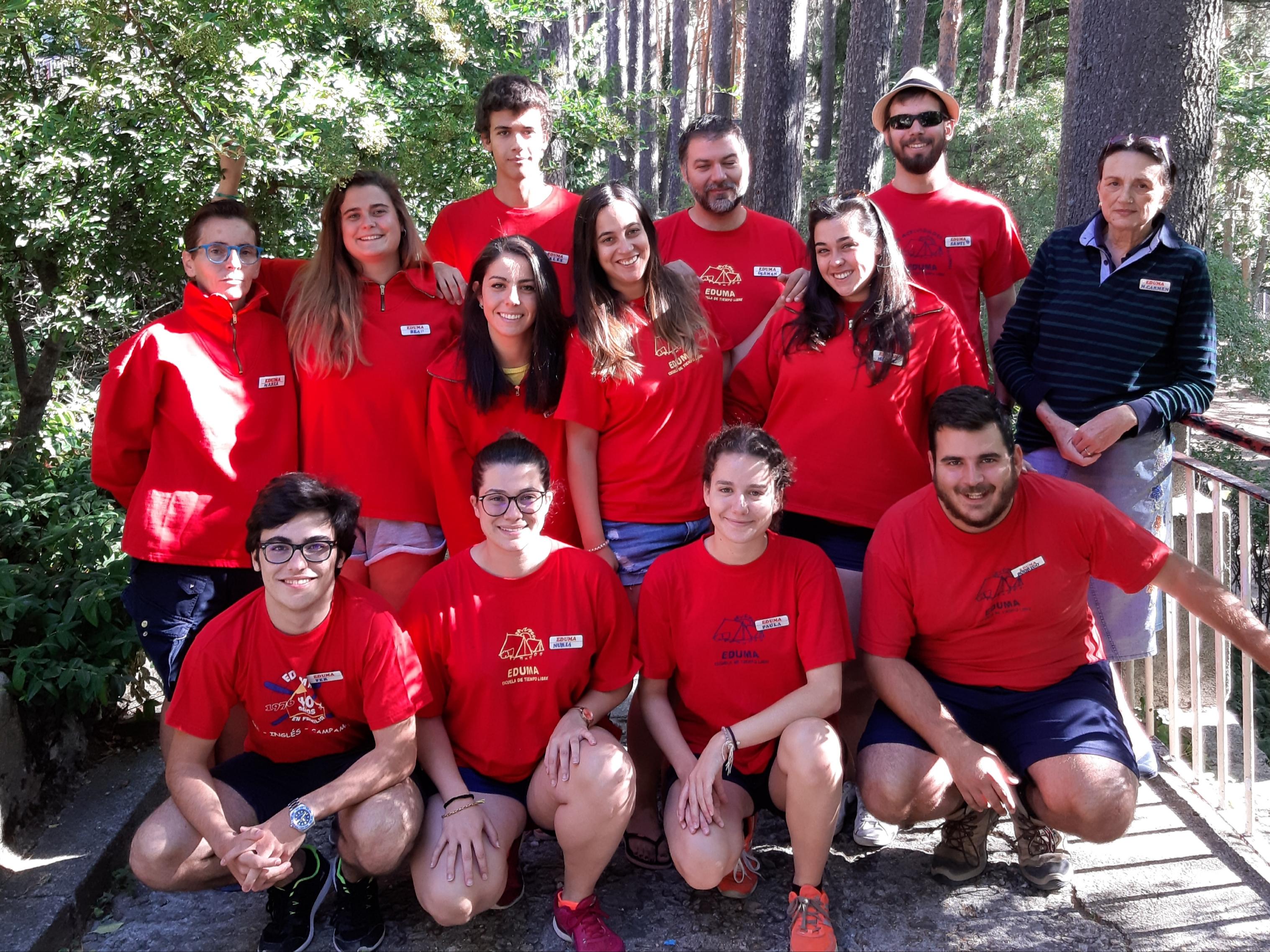 equipo de monitores Madrid Guadarrama 2019