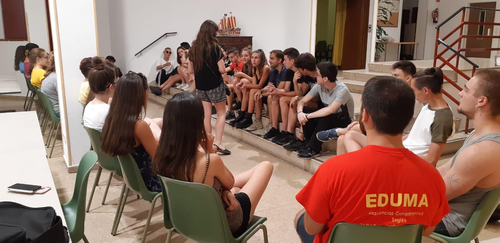 Clases curso monitor tiempo libre Madrid