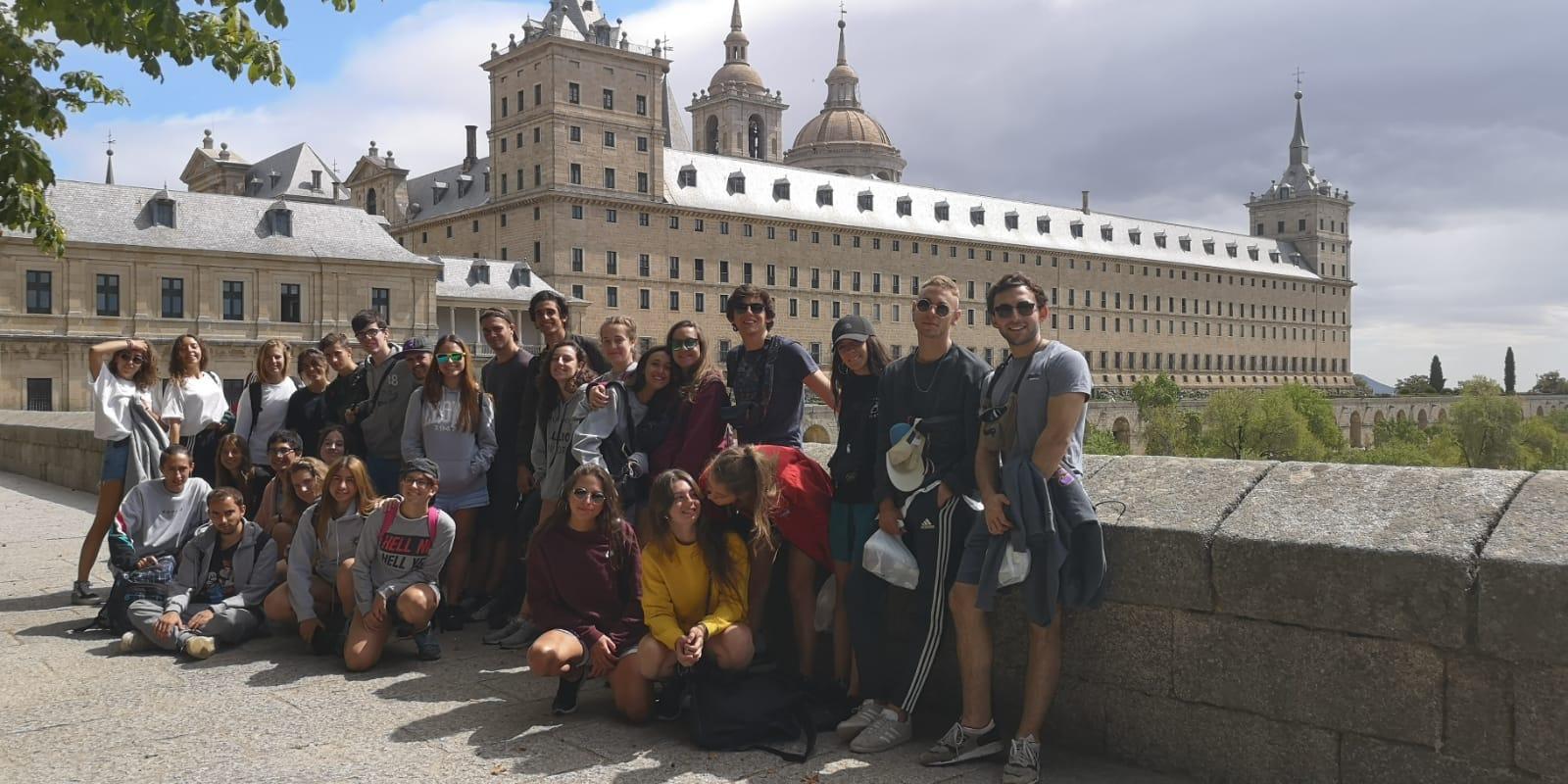 Excursion al Escorial. Curso de monitores
