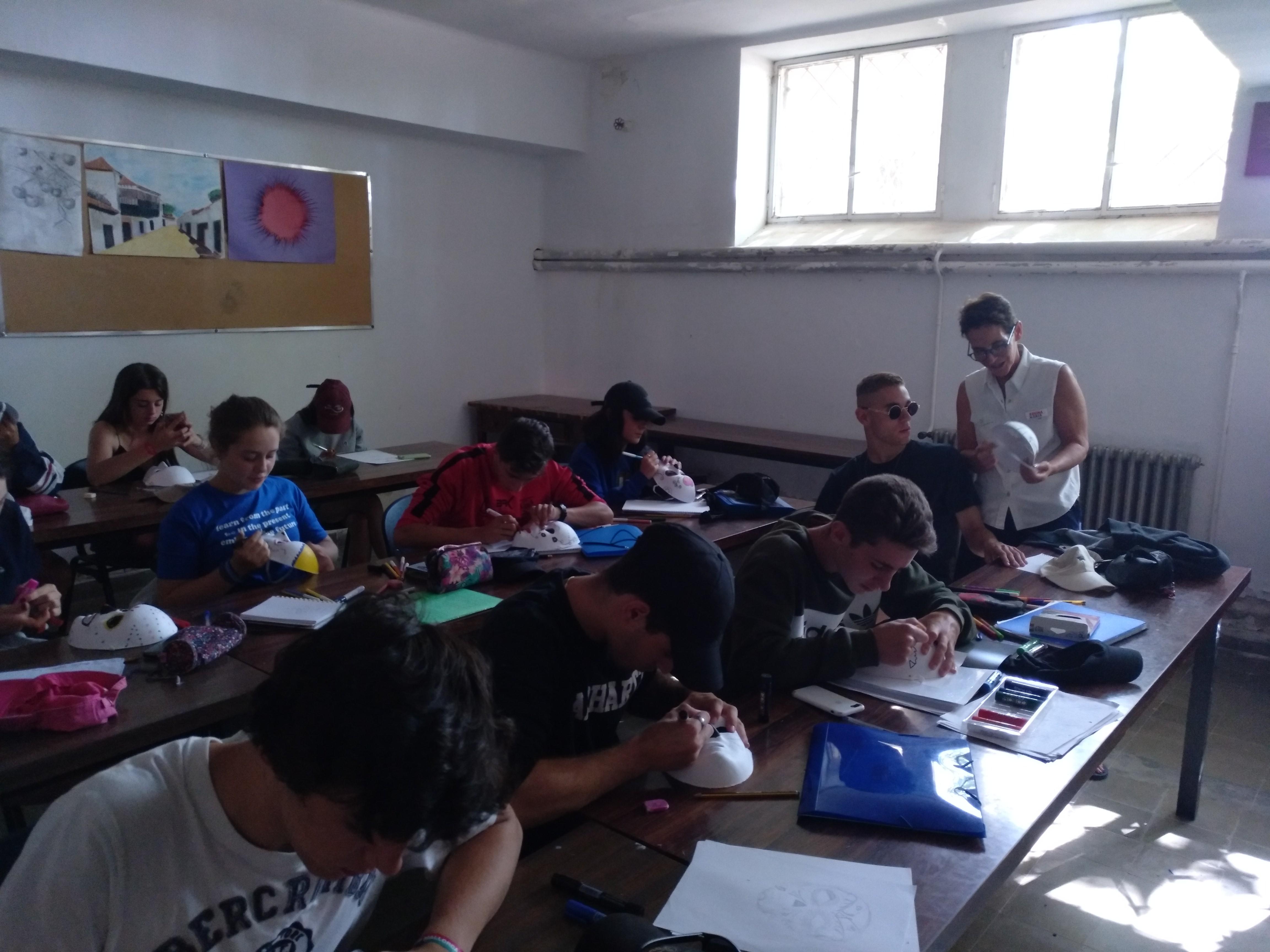 clases del curso semi intensivo de monitor de ocio y tiempo libre en verano