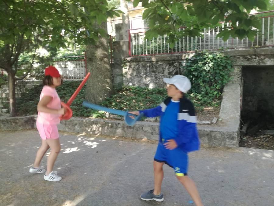 esgrima Campamento de verano Madrid Sierra Guadarrama