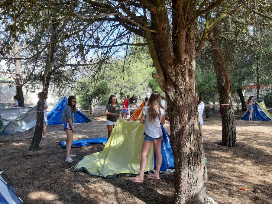 curso monitor acampada