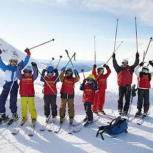 curso de esqui reyes para familias y niños