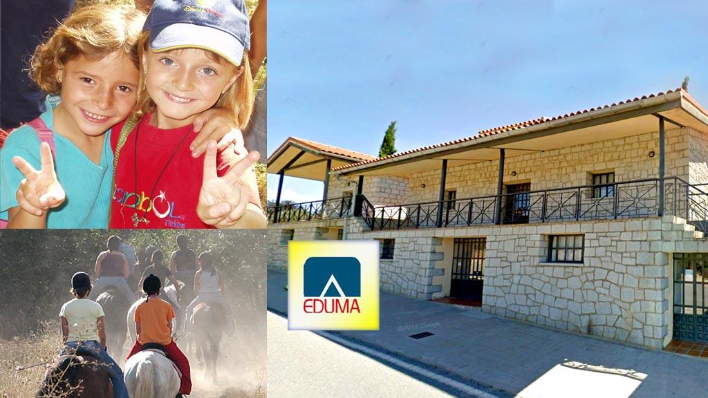 Campamento de verano en Madrid. Sierra de Madrid. Colonia de verano para niños.