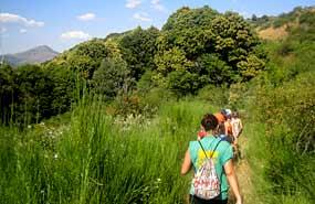 Senderismo y rutas en agosto. Campamento de verano Sierra de Madrid.