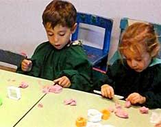 Construir tus propios juegos con niños en casa