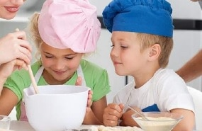 Cocinando con niños postres caseros recetas faciles