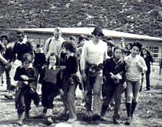 Excursión a La Pinilla 1976. Historia de los campamentos de verano