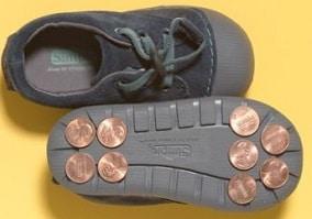 Zapatillas. Juegos musicales con instrumentos y actividades para niños.