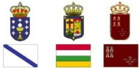 Escudos. Escuelas de Tiempo Libre reconocidas Comunidad Galicia, La Rioja y Murcia
