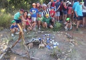grandes juegos de campamento construccion de cabañas