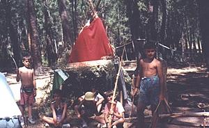 juegos de campamento para grandes grupos construcciones