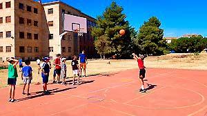 que es un campus deportivo baloncesto