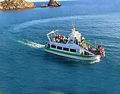 Barco. Campamento náutico Murcia