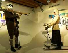 Visita museo esqui para niños en Madrid. Alojamiento en julio.