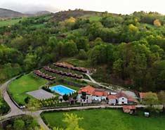 Albergue y alojamiento en campamento multiaventura asturias