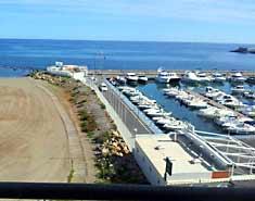 Club náutico campamento playa Murcia
