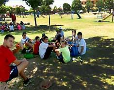 Excursión Riaza, Segovia. Alojamiento verano julio para niños