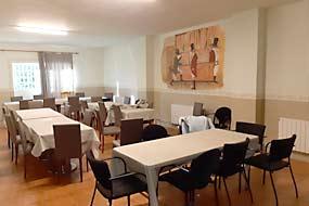 Sala. Instalación. Acampada en julio Segovia, Riaza.