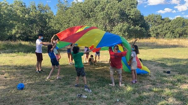 Juegos de paracaidas Madrid