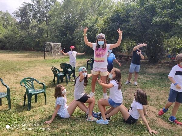 Juegos para niños campamento