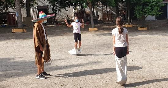 Campamento. Dia mexicano