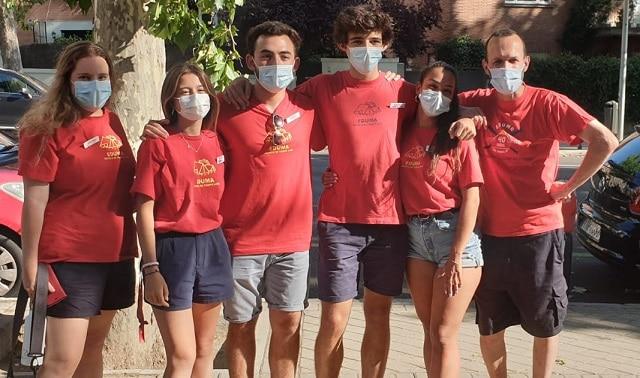 Monitores campamento verano Segovia julio