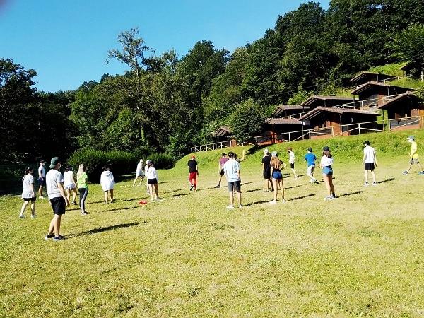 Campamento multiaventura Asturias Juegos
