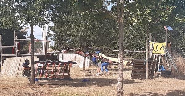 Paintball campamento en Toledo